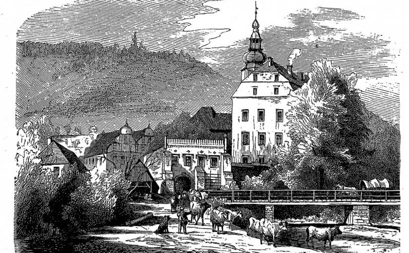 Rycina z XIX wieku
