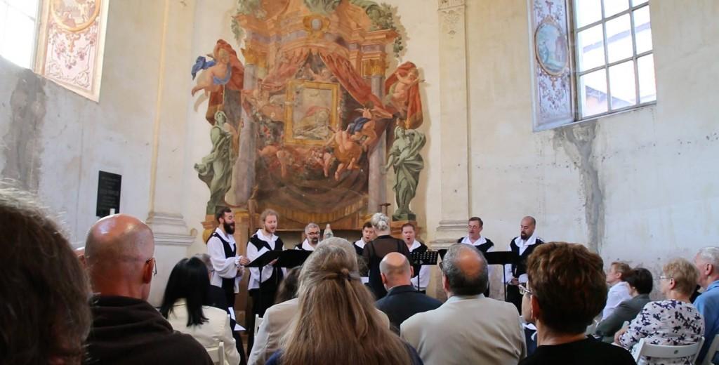 Zespół Męski Gregorianum w Kaplicy w Sarnach